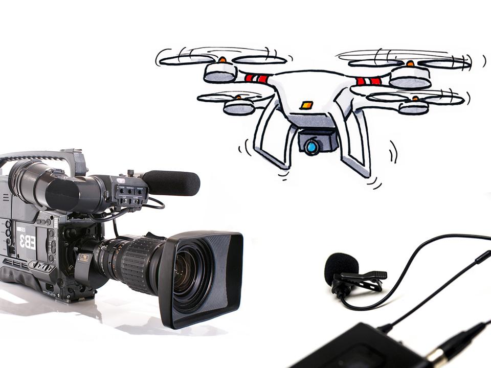 Filmproduktion: Videotechnik und Audiotechnik